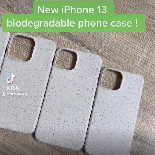 New iphone 13 100% eco-friendly biodegradable phone case arrived!