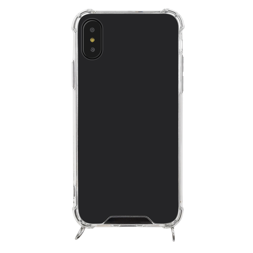 product-hot selling transparent shockproof phone case with rope-TenChen Tech-img