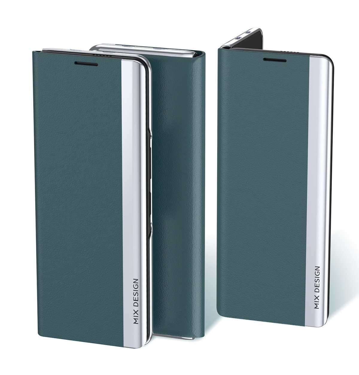 product-MI MIX FOLD leather Phone Case-TenChen Tech-img-1