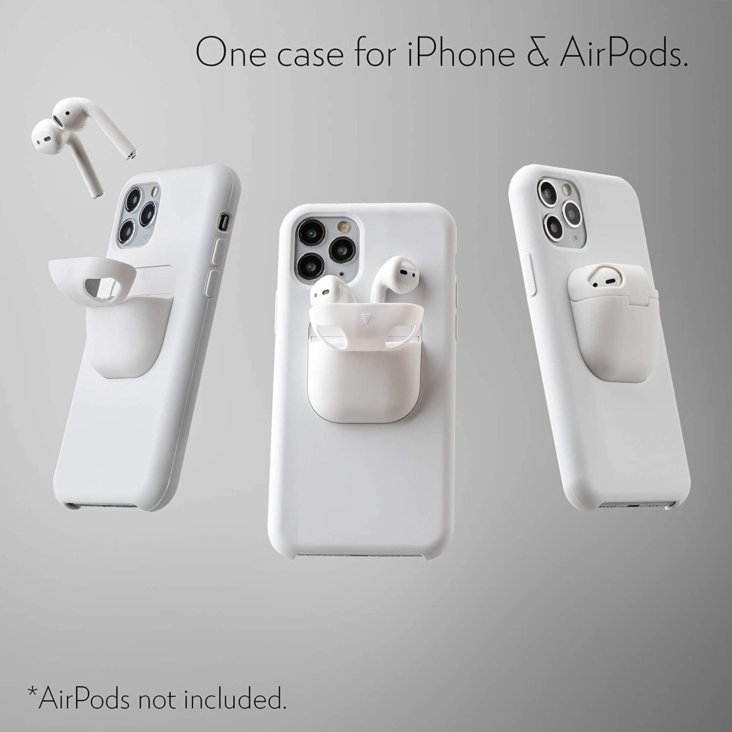 product-TenChen Tech-TENCHEN iPhone 12 Airpods Case Holder Slim Durable 2 in 1 Cover Designed for i-1