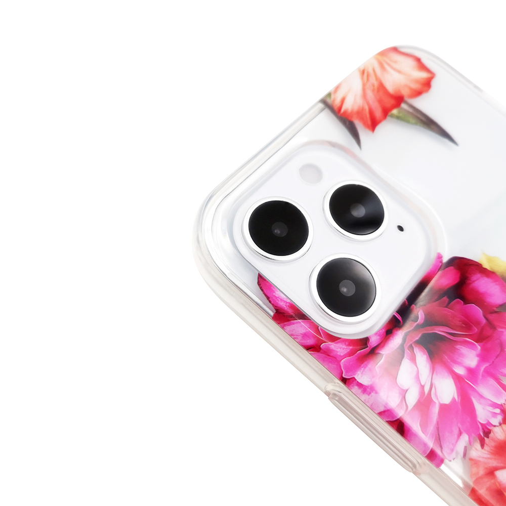 video-Pattern Clear Designed for iPhone 12 Case,Clear Case with Design,TPU Bumper with Protective Ha-3