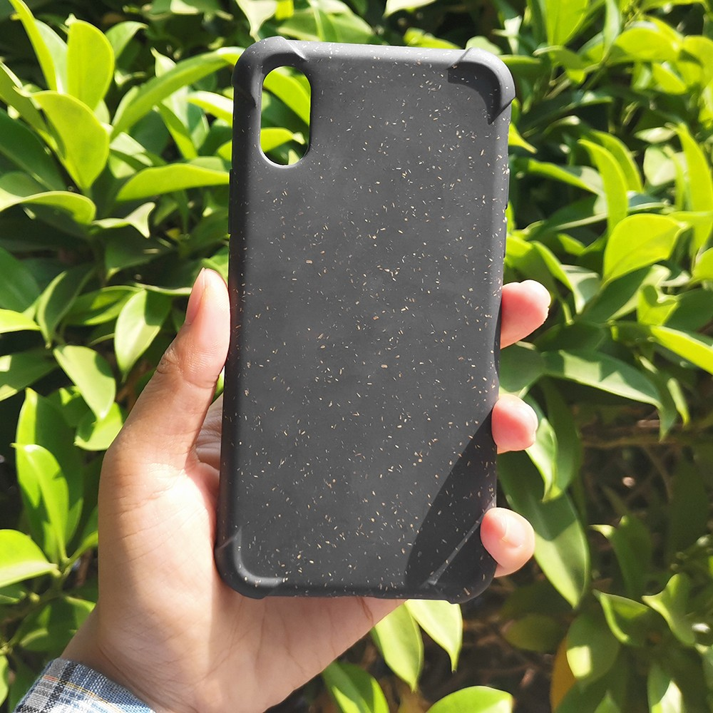 video-eco friendly phone case biodegradable phone case shockproof iphone x-TenChen Tech-img-3