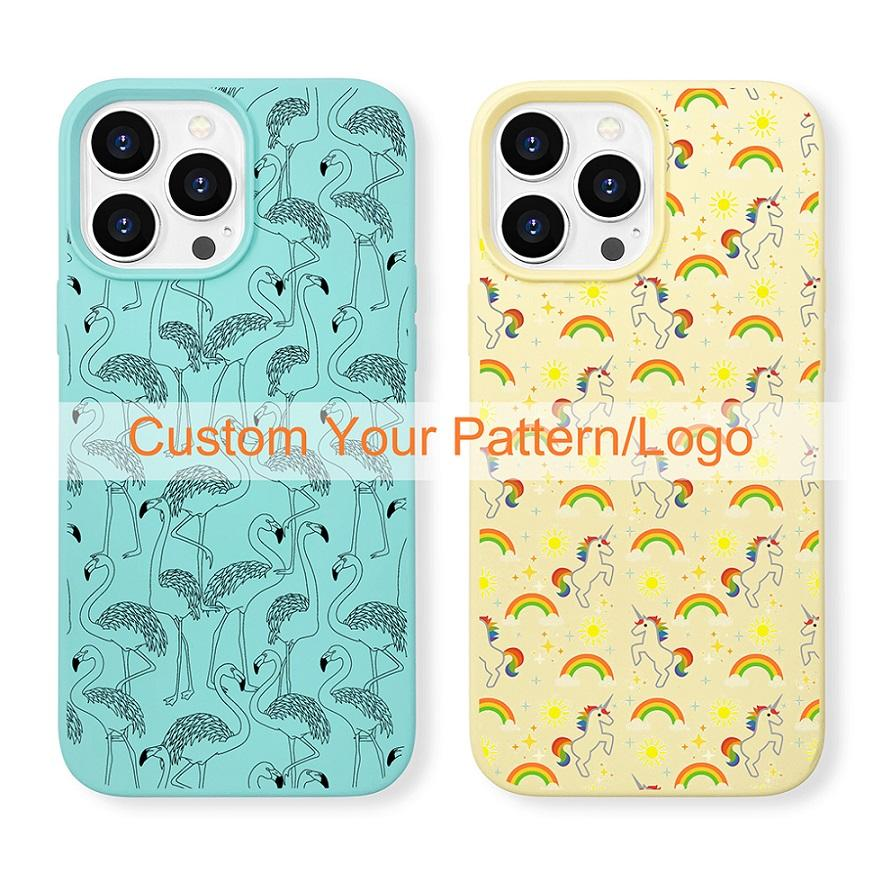 new arrival original soft touch iPhone 13 phone case silicone