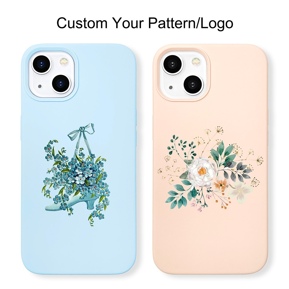video-new arrival original soft touch iPhone 13 phone case silicone-TenChen Tech-img-3