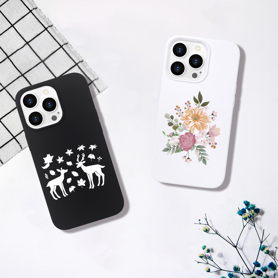video-new arrival original soft touch iPhone 13 phone case silicone-TenChen Tech-img-5