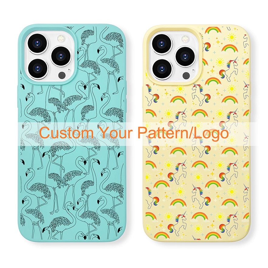 video-new arrival original soft touch iPhone 13 phone case silicone-TenChen Tech-img-7