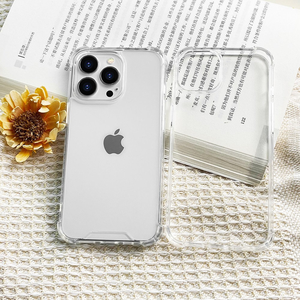 product-Best Quality Crystal Clear Designed for iPhone 13 Case Military Grade Drop Protection Shockp-1