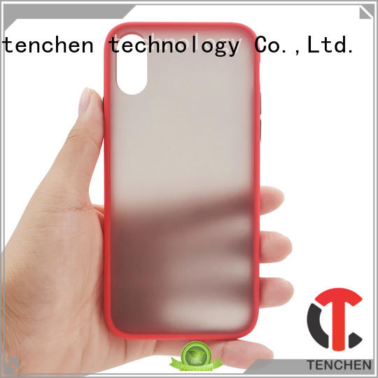 TenChen Tech rubber iphone case series for household