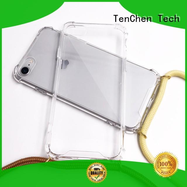 TenChen Tech rubber custom cases series for shop