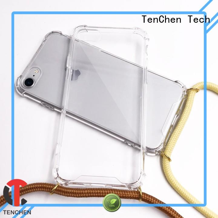 TenChen Tech scratch phone case with strap series for home