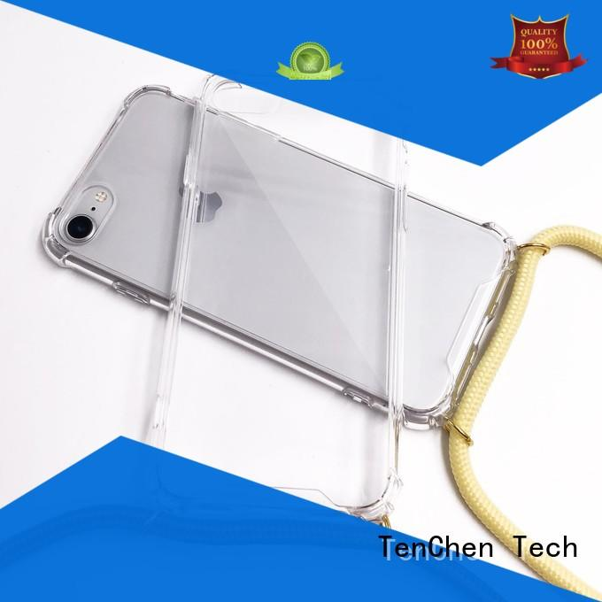 TenChen Tech Brand shockproof wooden leather mobile phones covers and cases wood