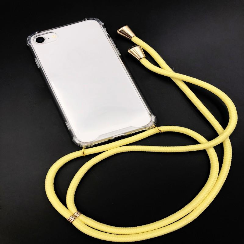 TenChen Tech-Transparent Tpu Pc Case With Straplanyard For Iphone | Iphone Case With-1