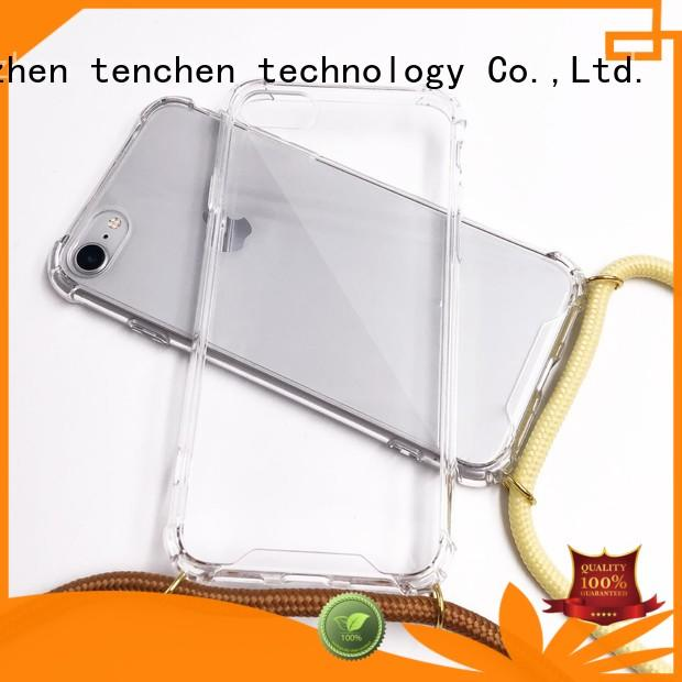 TenChen Tech Brand microfiber tpu cover mobile phones covers and cases real