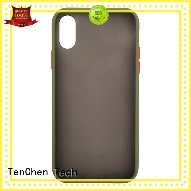 TenChen Tech semitransparent personalised mobile phone covers for shop
